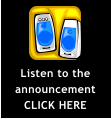 Listen to theannouncement CLICK HERE